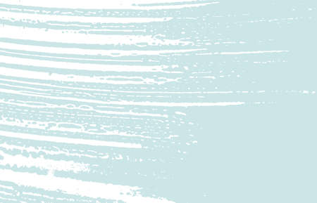 Grunge texture. Distress blue rough trace. Dazzling background. Noise dirty grunge texture. Marvelous artistic surface. Vector illustration.