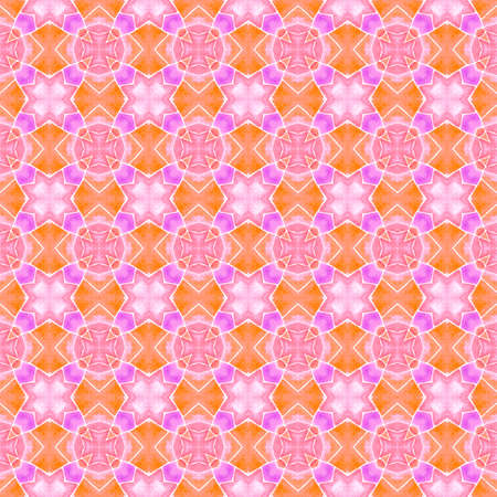 Textile ready ravishing print, swimwear fabric, wallpaper, wrapping. Orange fabulous boho chic summer design. Exotic seamless pattern. Summer exotic seamless border.