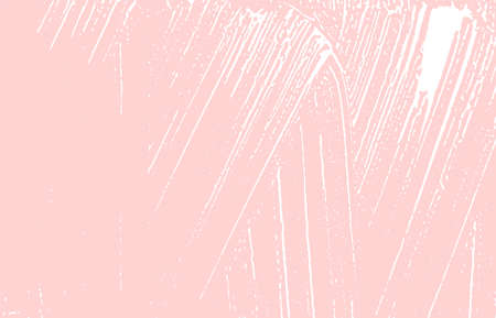 Grunge texture. Distress pink rough trace. Good-looking background. Noise dirty grunge texture. Divine artistic surface. Vector illustration.