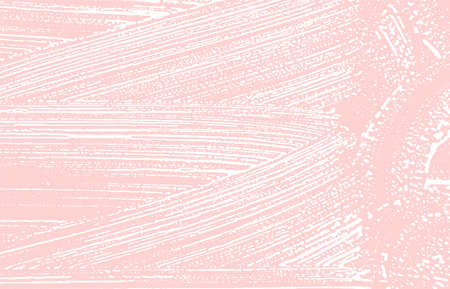 Grunge texture. Distress pink rough trace. Good-looking background. Noise dirty grunge texture. Curious artistic surface. Vector illustration.