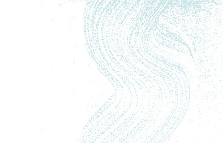 Grunge texture. Distress blue rough trace. Captivating background. Noise dirty grunge texture. Stunning artistic surface. Vector illustration. Vektorgrafik