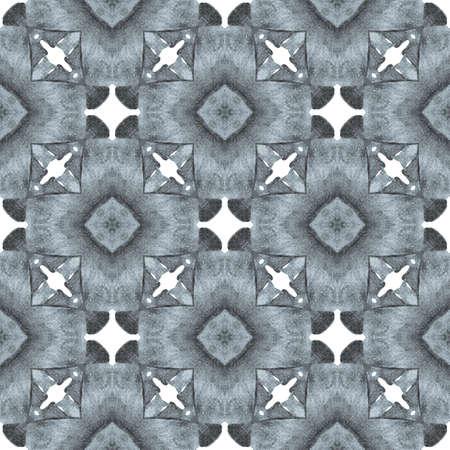 Trendy organic green border. Black and white original boho chic summer design. Textile ready dazzling print, swimwear fabric, wallpaper, wrapping.  Organic tile.