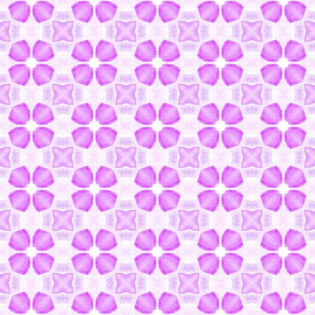Mosaic seamless pattern. Purple creative boho chic summer design. Textile ready magnetic print, swimwear fabric, wallpaper, wrapping.  Hand drawn green mosaic seamless border.