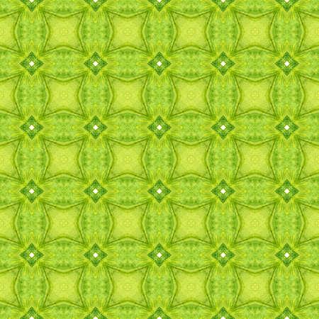 Textile ready cute print, swimwear fabric, wallpaper, wrapping. Green curious boho chic summer design. Arabesque hand drawn design. Oriental arabesque hand drawn border. Banque d'images - 167023529
