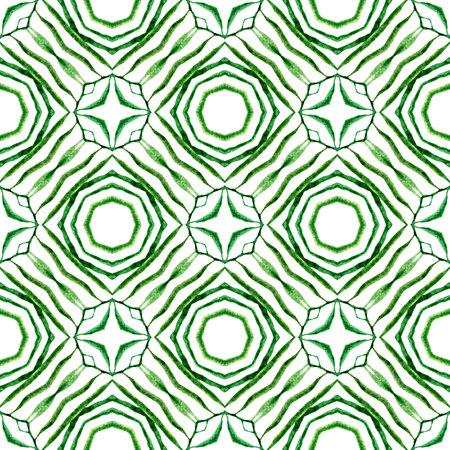 Arabesque hand drawn design. Green glamorous boho chic summer design. Textile ready divine print, swimwear fabric, wallpaper, wrapping.  Oriental arabesque hand drawn border.