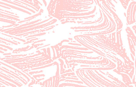 Grunge texture. Distress pink rough trace. Fascinating background. Noise dirty grunge texture. Vibrant artistic surface. Vector illustration. Illusztráció