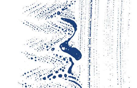 Grunge texture. Distress indigo rough trace. Elegant background. Noise dirty grunge texture. Graceful artistic surface. Vector illustration. Vector Illustration