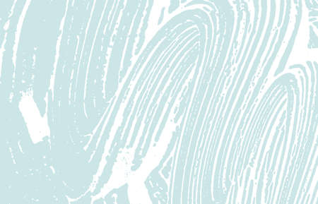 Grunge texture. Distress blue rough trace.