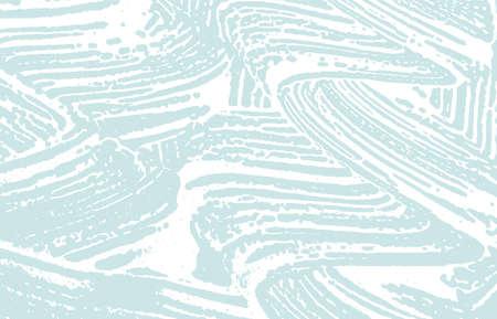 Grunge texture. Distress blue rough trace. Captiva Ilustração