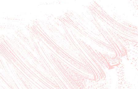 Grunge texture. Distress pink rough trace. Ilustração