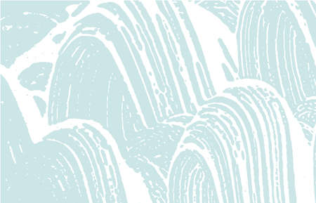 Grunge texture. Distress blue rough trace. Brilliant background. Noise dirty grunge texture. Optimal artistic surface. Vector illustration. Vettoriali