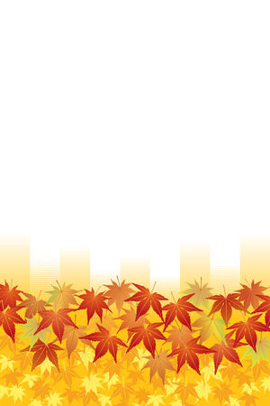 Maple Leaves: Red and Yellow Stock Vector - 8036515