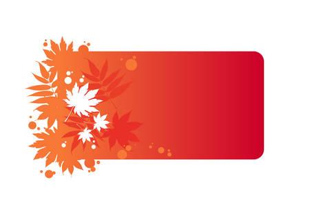 autumnal frame Stock Vector - 8977961
