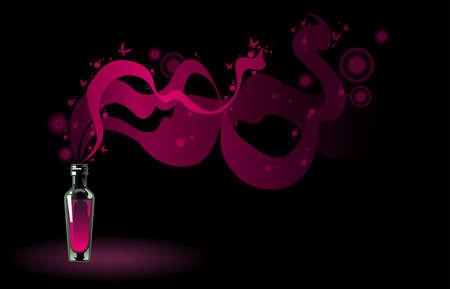 poison bottle: pallone di pozione magica