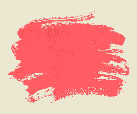 swipe: Bright pink watercolor brush vector strokes  Illustration