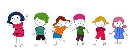 çocuklar: Çocuklar Çizim