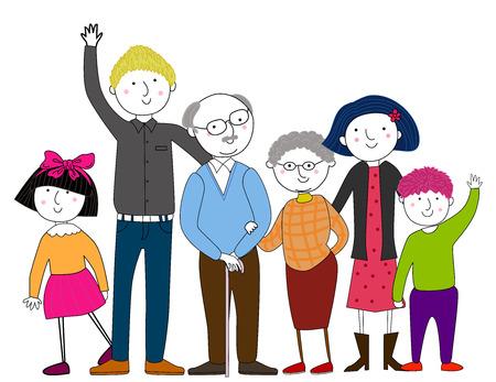 familias unidas: Gran familia