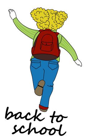 child running: Back to school