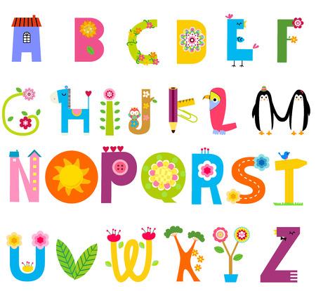 Alphabet Vector