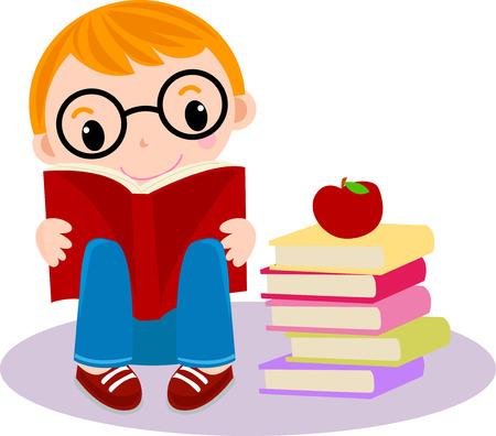student boy: Salvare Scarica Anteprima Un piccolo ragazzo libro di lettura