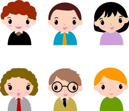 gruppe von menschen: Gruppe Menschen Symbole