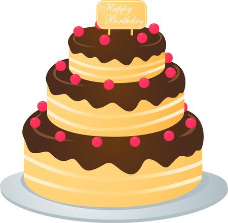 meringue: cake Illustration