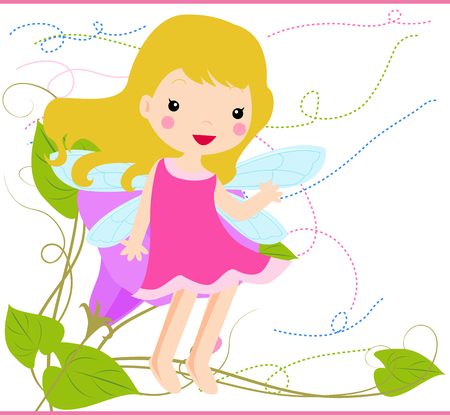 redheaded: flower fairy
