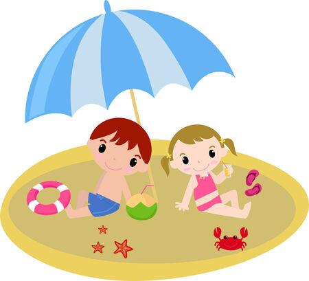 beach boy: Kids is summer