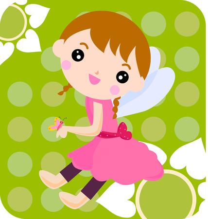 fairy: flower fairy