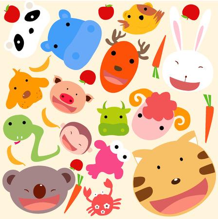 Animal wallpaper Vector