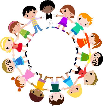 Gruppe von Kindern Standard-Bild - 30721236