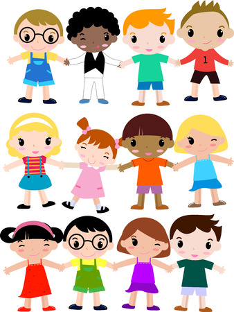 964 Diverse School Children Stock Illustrations, Cliparts And ...