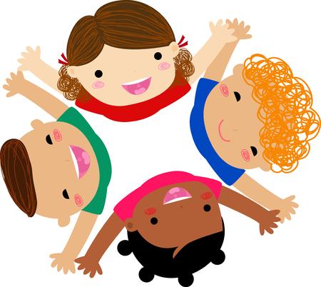 Glückliche Kinder Standard-Bild - 30721330