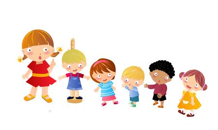 height: height children