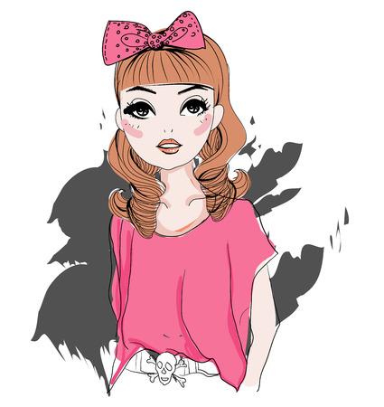 Fashion meisje