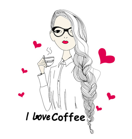 coffee moment Vector
