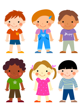 pant: Group of children