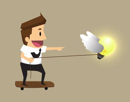 forced: Ideas forced bulbs.vector