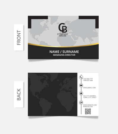 businesscard: Business card modern design.VECTOR EPS10 Illustration