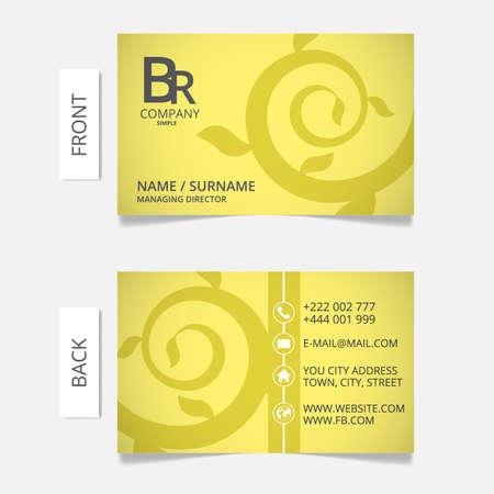 Business card modern design.VECTOR  EPS10