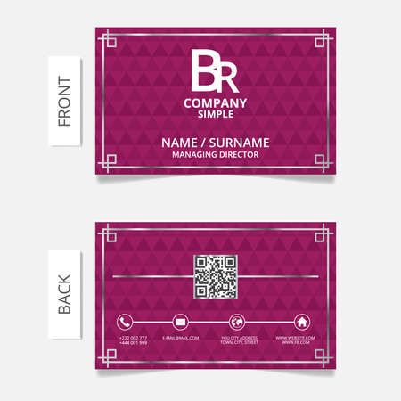 Business card modern design.VECTOR  EPS10
