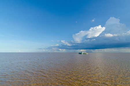 tonle sap: Tonle sap, the largest lake in Cambodia
