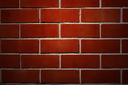 Red brick wall. Stock Photo - 8339365