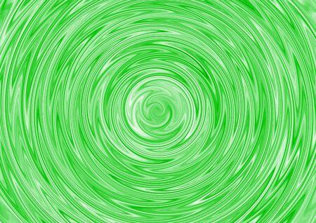 Vagues sur une surface de l'eau verte. Banque d'images
