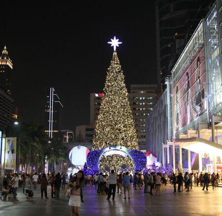 BANGKOK - DEC 27: Central World organiser Bienvenue � No�l et Nouvel An du festival 2012 sur D�cembre 27,2011 au Central World � Bangkok, Tha�lande.
