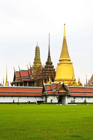 Wat Phra Kaew, Temple of the Emerald Buddha, Bangkok, Thailand. Stock Photo - 12008318