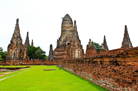 Wat Chaiwatthanaram Temple. Ayutthaya Historical Park, Thailand. photo