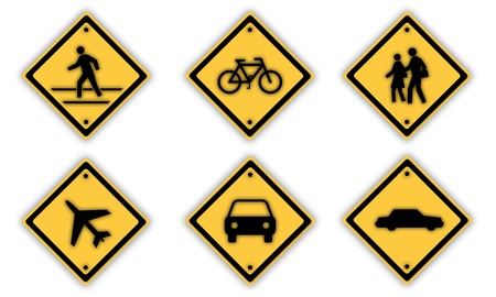 Traffic signs. Stock Photo - 13454944