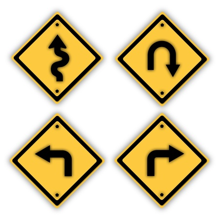Traffic signs. Stock Photo - 13793158