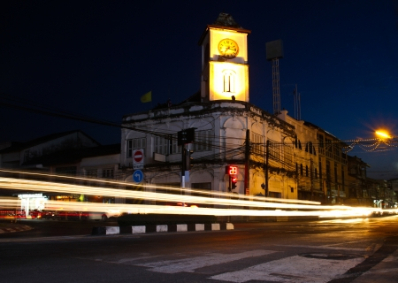 Old building in Phuket town, Thailand. photo